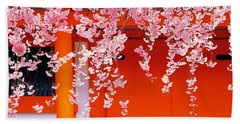 Heian-jingu Kyoto Japan Bath Towel
