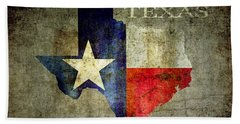 Hello Texas Hand Towel