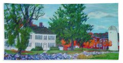 Henry Warren House And Barn Hand Towel