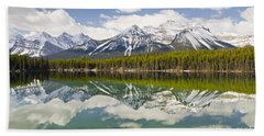Herbert Lake Hand Towel by Dee Cresswell