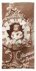 Heureuse Annee Vintage Baby Hand Towel