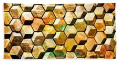 Hexacubes Bath Towel