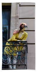Bath Towel featuring the photograph Hey There Beautiful by Sotiris Filippou