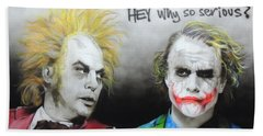 Hey, Why So Serious? Hand Towel
