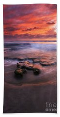 Hidden By The Tides Hand Towel