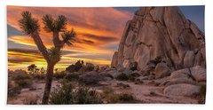 Hidden Valley Rock - Joshua Tree Hand Towel
