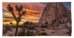Hidden Valley Rock - Joshua Tree Bath Towel