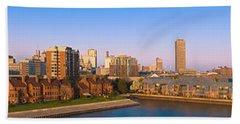 High Angle View Of A City, Buffalo, New Hand Towel