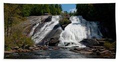 High Falls North Carolina Hand Towel by Charles Beeler