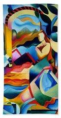 High Sierra Hand Towel by Sally Trace