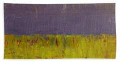 Highway Series - Lake Bath Towel by Michelle Calkins