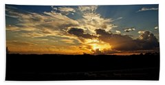 Hill Country Sunset Bath Towel