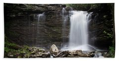 Second Fall Of Hills Creek Hand Towel