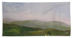 Hills Of Ireland Bath Towel