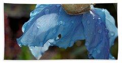 Blue Allure Hand Towel