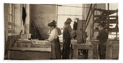 Hine Glass Workers, 1908 Hand Towel