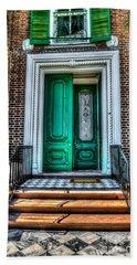 Historic Charleston Sc Door Hand Towel