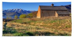 Historic Francis Tate Barn - Wasatch Mountains Hand Towel