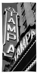 Historic Tampa Bath Towel by David Lee Thompson