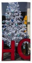 Ho Christmas Tree Hand Towel