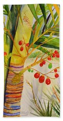 Holiday Palm Bath Towel