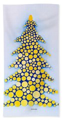 Holiday Tree #2 Hand Towel