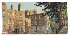 Holly Hill, Hampstead Oil On Canvas Bath Towel