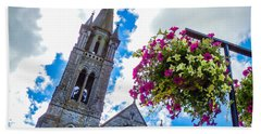 Holy Cross Church Steeple Charleville Ireland Hand Towel