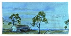 Home On The Range Hand Towel by Leanne Seymour