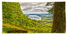 Honeoye Lake Overlook Hand Towel