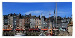 Honfleur France Bath Towel