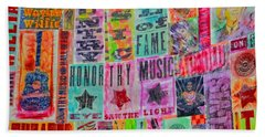 Honor Thy Music Blanket Hand Towel