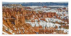 Hoodoos At Sunset Point Hand Towel