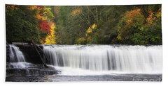 Hooker Falls In North Carolina Bath Towel