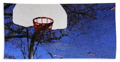 Hoop Dreams Hand Towel by Jason Politte