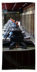 Hoover Dam Generator Room Bath Towel