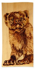 Hope's Marten Bath Towel by Ron Haist
