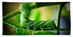 Hornworm Bath Towel