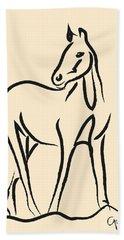 Horse - Grace Hand Towel