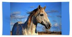 Horse Hand Towel by Savannah Gibbs