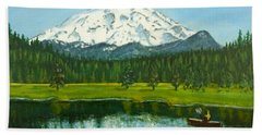 Hosmer Lake Bath Towel