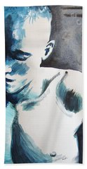 Hand Towel featuring the painting Hot Child In The City by Rene Capone