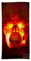 Hot Headed Skull Hand Towel
