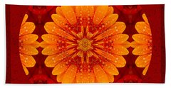Hot Tropical Zen Bath Towel