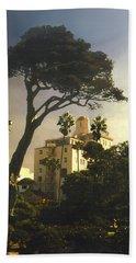 Hotel California- La Jolla Bath Towel