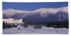 Hotel Near Snow Covered Mountains, Mt Hand Towel