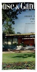 House & Garden Cover Of The Kurt Appert House Bath Towel