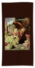 House And Garden Cover Of An Upturned Basket Bath Towel