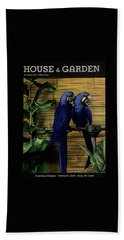 House And Garden Furniture Number Cover Bath Towel