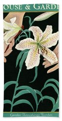 House And Garden Garden Furnishings Number Hand Towel